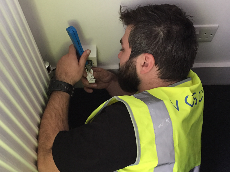 New Extension Socket Installation